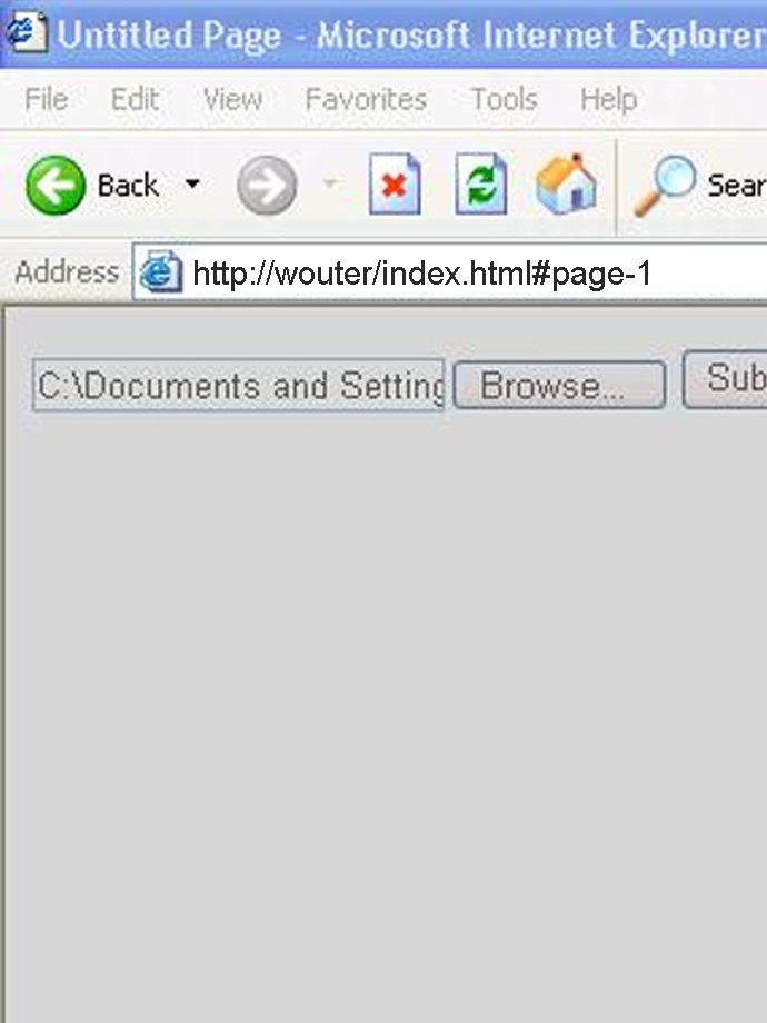 Deeplinking & browser back button in Flash
